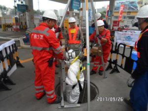 HSE training for safe man Entry
