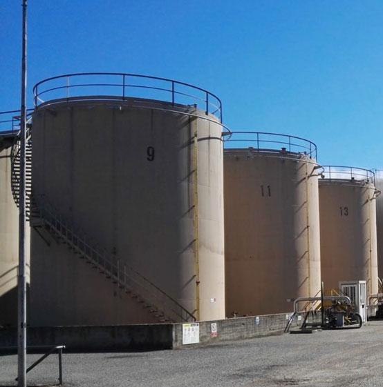 Double floor tank rehabilitation in Italy