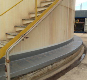 Ring wall rehabilitation project