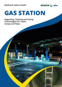 Gas Station Brochure Cover