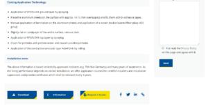 Wolftank Request a Quote Button Bottom - Screenshot