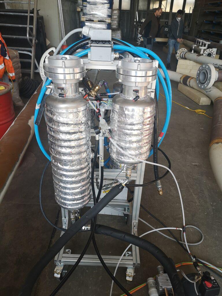 Robot tubes